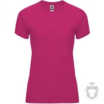 Camisetas Roly Bahrain W color Roseton :: Ref: 78