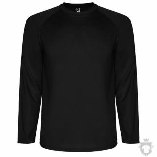 Camisetas Roly Montecarlo ML color Black :: Ref: 02