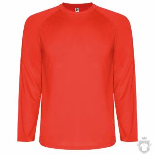 Camisetas Roly Montecarlo ML color Red :: Ref: 60