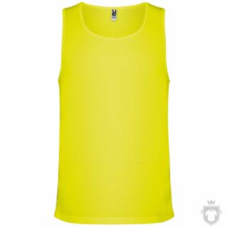 Camisetas Roly Interlagos color Yellow Fluor :: Ref: 221