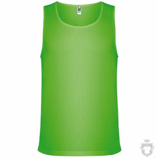 Camisetas Roly Interlagos color Fluor green :: Ref: 222