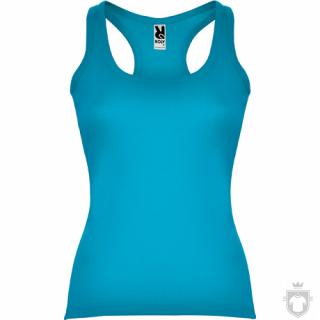Camisetas Roly Carolina 220   color Turquoise :: Ref: 12