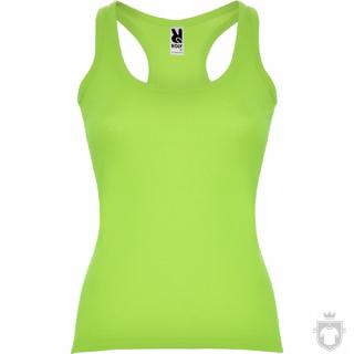 Camisetas Roly Carolina 220   color Lime green  :: Ref: 69