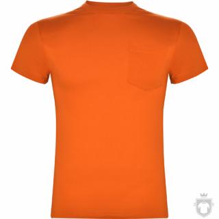 Camisetas Roly Teckel color Orange :: Ref: 31