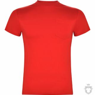 Camisetas Roly Teckel color Red :: Ref: 60