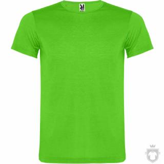 Camisetas Roly Akita color Fluor green :: Ref: 222