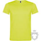 Camisetas Roly Akita K color Yellow Fluor :: Ref: 221