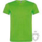Camisetas Roly Akita K color Fluor green :: Ref: 222
