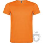 Camisetas Roly Akita K color Orange Fluor :: Ref: 223