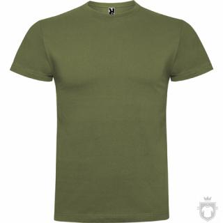 Camisetas Roly Braco color Militar green  :: Ref: 15