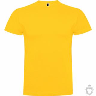 Camisetas Roly Braco color Golden yellow  :: Ref: 96