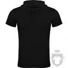 Camisetas Roly Laurus color Black :: Ref: 02