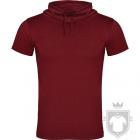 Camisetas Roly Laurus color Granate :: Ref: 57
