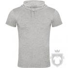 Camisetas Roly Laurus color Grey  :: Ref: 58