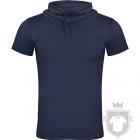 Camisetas Roly Laurus color Denim blue :: Ref: 86