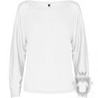 Camisetas Roly Dafne ML color White :: Ref: 01
