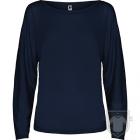 Camisetas Roly Dafne ML color Navy blue :: Ref: 55