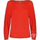 Camisetas Roly Dafne ML color Red :: Ref: 60