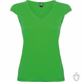 Camisetas Roly Martinica 155 color Irish green  :: Ref: 24