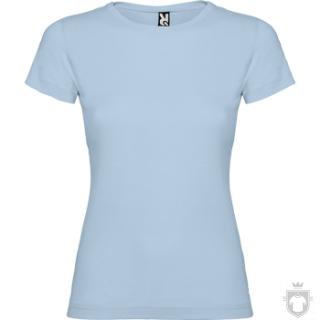 Camisetas Roly Jamaica 155 color Sky blue :: Ref: 10