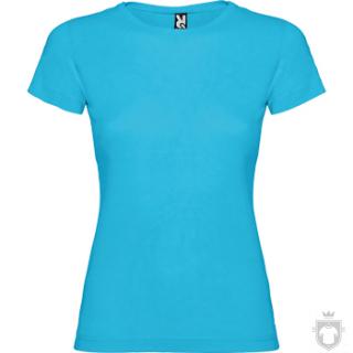 Camisetas Roly Jamaica Niña color Turquoise :: Ref: 12