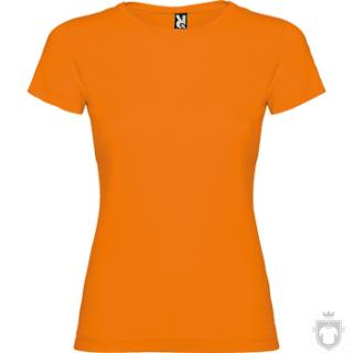 Camisetas Roly Jamaica 155 color Orange :: Ref: 31