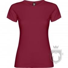 Camisetas Roly Jamaica 155 color Granate :: Ref: 57