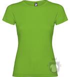 Camisetas Roly Jamaica 155 color Grass green  :: Ref: 83