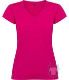 Camisetas Roly Victoria cuello V color Roseton :: Ref: 78