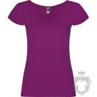 Camisetas Roly Guadalupe color Purple :: Ref: 71