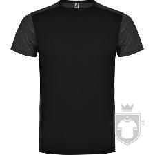 Camisetas Roly Zolder K color HEATHER BLACK/BLACK :: Ref: 02243
