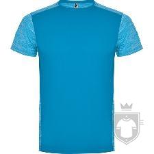 Camisetas Roly Zolder K color Turquesa/Turquesa Vigore :: Ref: 12246