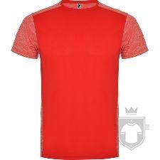 Camisetas Roly Zolder K color Rojo/Rojo Vigore :: Ref: 60245