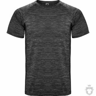 Camisetas Roly Austin color Heather Black :: Ref: 243
