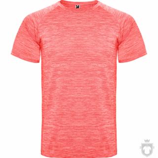 Camisetas Roly Austin color Heather Fluor Coral :: Ref: 244