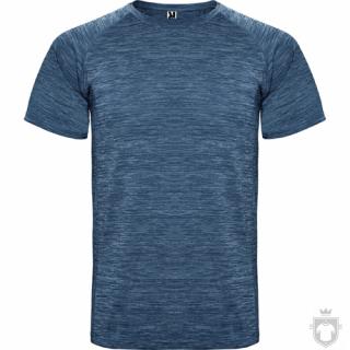 Camisetas Roly Austin color Heather Navy Blue :: Ref: 247