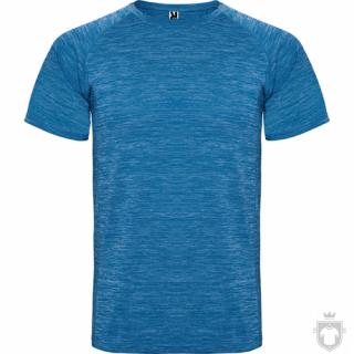 Camisetas Roly Austin color Heather Royal :: Ref: 248