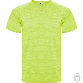 Camisetas Roly Austin color Heather Fluor Yellow :: Ref: 249