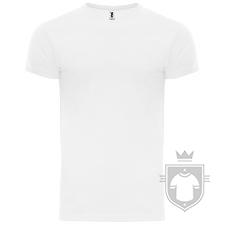 Camisetas Roly Atomic 180 color White :: Ref: 01
