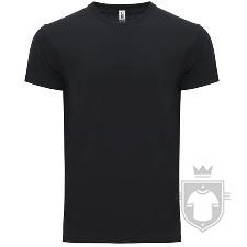 Camisetas Roly Atomic 180 color Black :: Ref: 02
