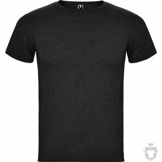Camisetas Roly Fox color Heather Black :: Ref: 243