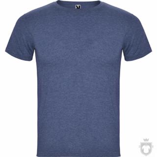 Camisetas Roly Fox color Heather Denim :: Ref: 255