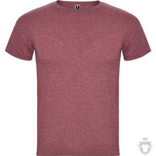 Camisetas Roly Fox color Heather Garnet :: Ref: 256