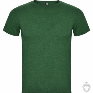 Camisetas Roly Fox color Heather Bottle Green :: Ref: 257