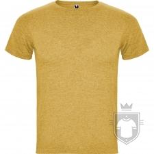 Camisetas Roly Fox color Mostaza Vigore :: Ref: 39