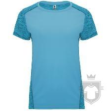 Camisetas Roly Zolder W color Turquesa/Turquesa Vigore :: Ref: 12246