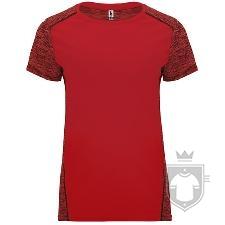 Camisetas Roly Zolder W color Rojo/Rojo Vigore :: Ref: 60245