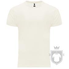 Camisetas Roly Basset color Crudo :: Ref: 29