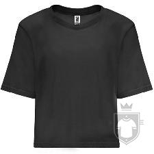 Camisetas Roly Dominica color Black :: Ref: 02