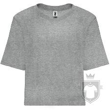 Camisetas Roly Dominica color Grey  :: Ref: 58